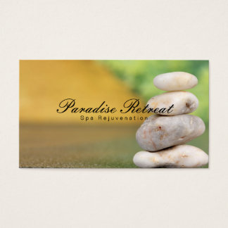 Spa Retreat | Zen Business Card