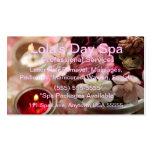 Spa & Salon Business Card Template