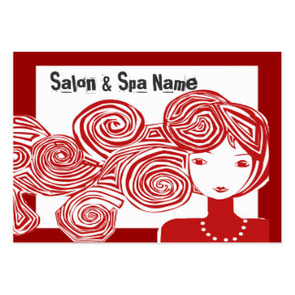 Spa Salon Fantasy Classic Designer Large Business Card
