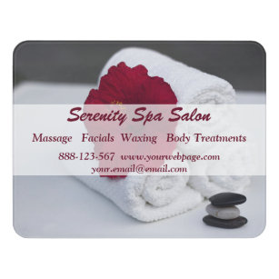 Charmant Spa Salon Massage Towels Hibiscus Door Sign