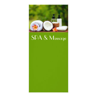 SPA setting Rack Card
