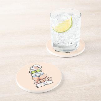 Spa Shih Tzu Beverage Coaster