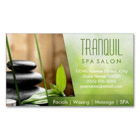 SPA Still Life Beautiful Green Massage Salon
