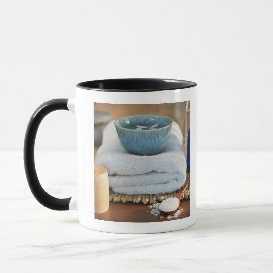 Spa still life mug