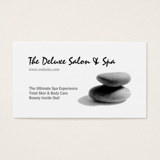 Spa Stones Business Card