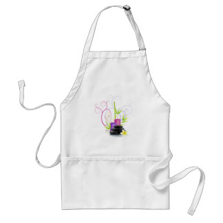 Spa theme adult apron