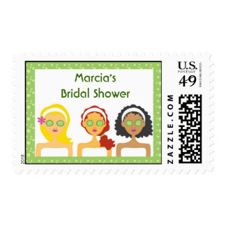 Spa Theme Custom Postage Stamp