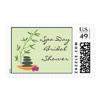 Spa Theme Custom Postage Stamp