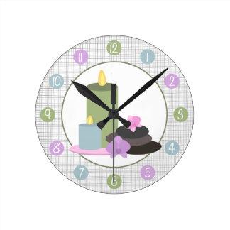 Spa Themed Clock