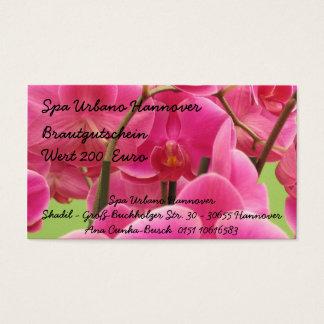 Spa Urbano Hanover Business Card