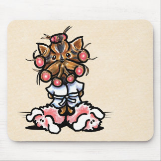 Spa Yorkie Mouse Pad