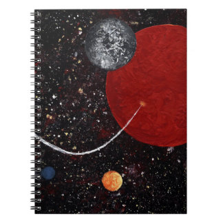 SPACE 15 (an outer space art design) ~ Notebook