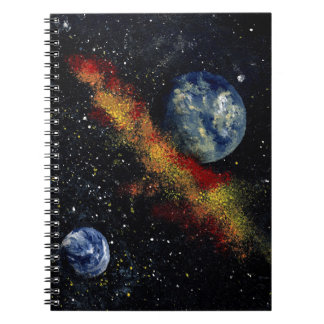 SPACE 16 (an outer space design) ~ Notebook