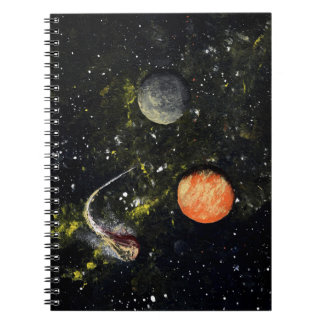 SPACE 17 (an outer space design) ~ Notebook