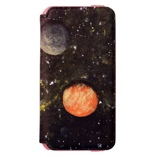 SPACE 17 (an outerspace design) ~ iPhone 6/6s Wallet Case