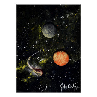 SPACE 17 v.1 (large) ~ Poster