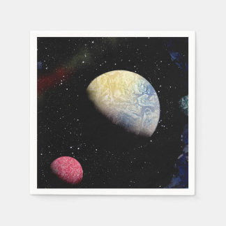 Astronomy space paper napkins zazzle for Outer space paper
