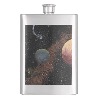 SPACE 2 (an outer space design) ~ Flask