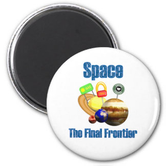 Space 2 Inch Round Magnet