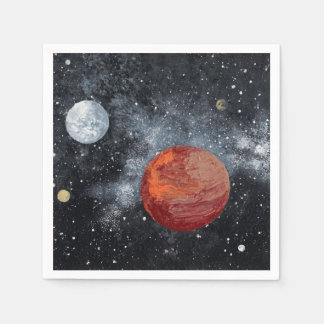 Space  2 (outerspace) ~ napkin