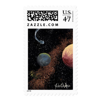SPACE 2 ~ THE VISITING COMET POSTAGE