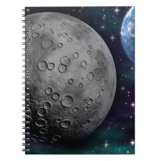 space-681638 FANTASY SPACE GALAXY ALIEN WORLDS SCI Spiral Note Books