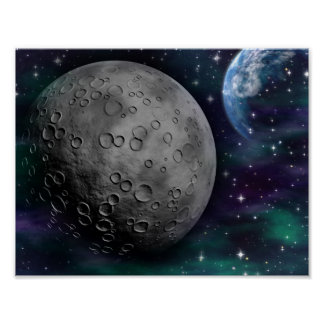 space-681638 FANTASY SPACE GALAXY ALIEN WORLDS SCI Poster