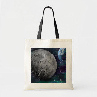 space-681638 FANTASY SPACE GALAXY ALIEN WORLDS SCI Tote Bag