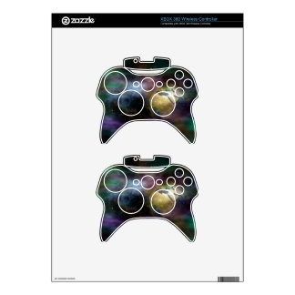 space-681642. SPACE GOLEN EARTH NEBULA GALAXIES FA Xbox 360 Controller Decal
