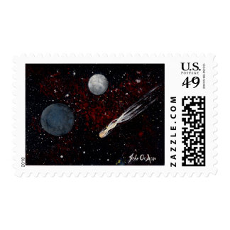 SPACE (6) POSTAGE STAMP
