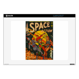 """Space Action 15"""" Laptop Decal"""