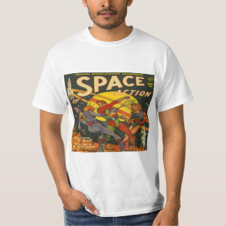Space Action #1 Classic Comic Book Covers T-Shirt