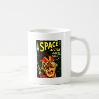 Space Action: Eek!  A Monster! Coffee Mug
