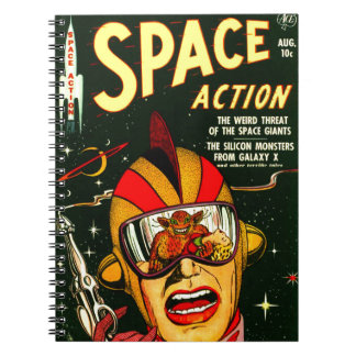 Space Action: Eek!  A Monster! Notebook