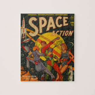 Space Action Jigsaw Puzzle