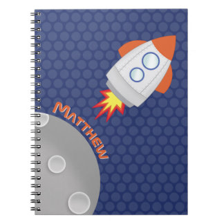 Space Adventure Notebook