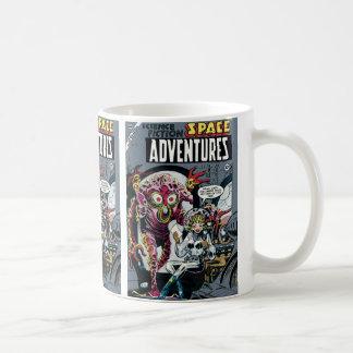 Space Adventures #12 Funny Retro Sci Fi Comic Coffee Mug