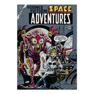 Space Adventures #12 Poster