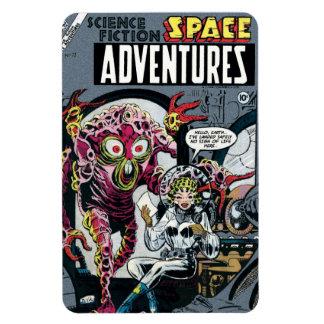 Space Adventures #12 Vinyl Magnet