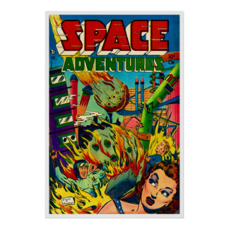 Space Adventures #1 (1952) Poster