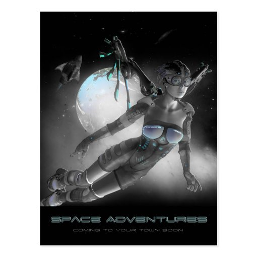 Space Adventures Postcards