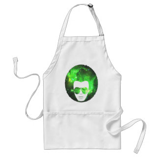 Space Afro Adult Apron