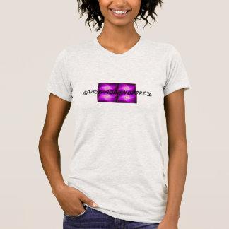 Space age inspired kuwatsudopapururedeisu T shirt