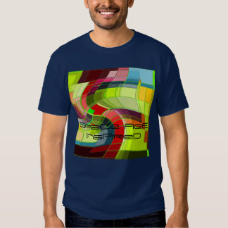 Space age inspired T shirt