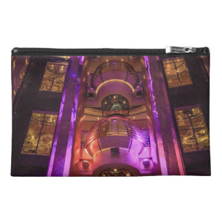 Space Age Pink Purple Travel Accessory Bags