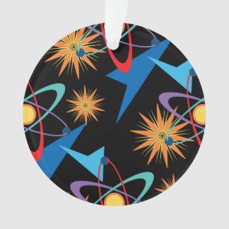 Space Age Retro Multicolored Pattern