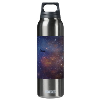 Space Airplane Insulated Water Bottle