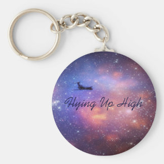 Space Airplane Keychain