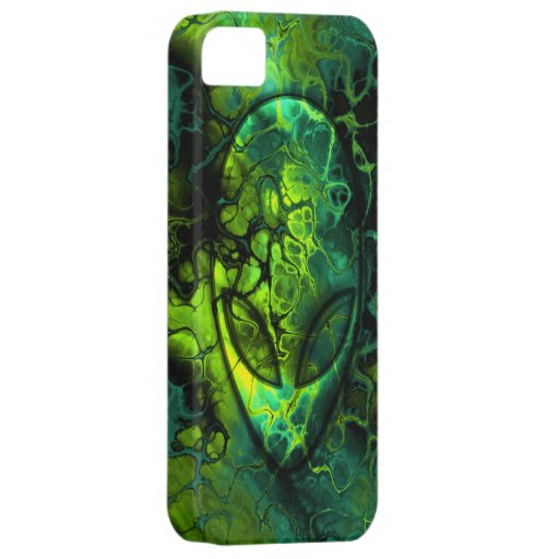 Space Alien Abstract iPhone 5 Cases