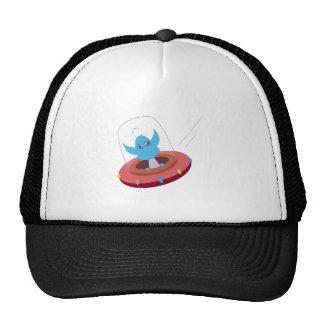Space Alien Trucker Hat